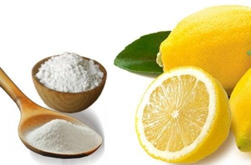 Remedio natural del bicarbonato de sodio y el limón