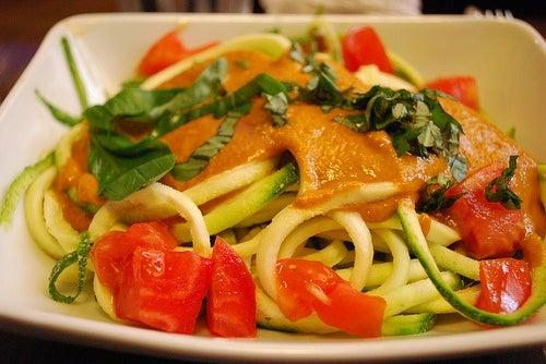 espaguetis calabacin tzejen