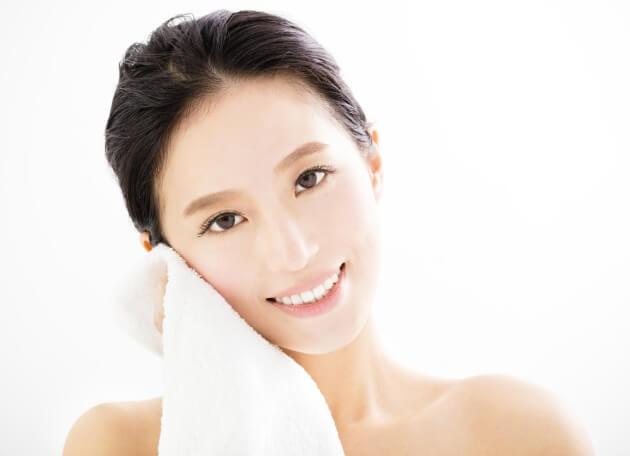 Secar piel del rostro