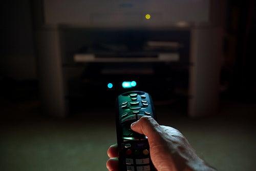 Mirar demasiado la televisión