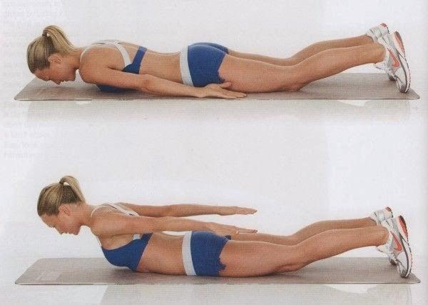 como humillar de balanza la espalda ejercicios en casa
