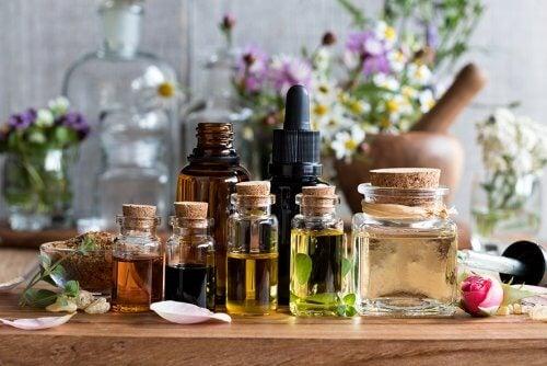 Los aceites esenciales para hacer gel de ducha casero