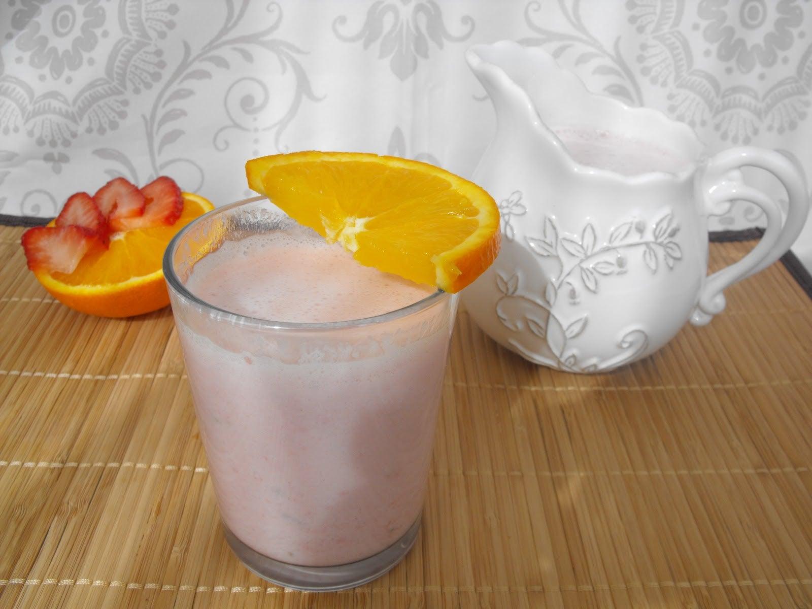 Adelgazar con aloe vera, fresa y naranja