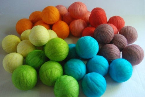 bolas lana secadora