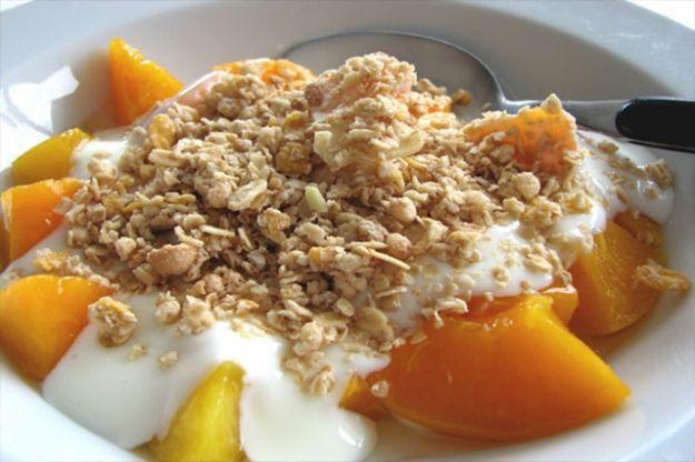 Copos de avena en el desayuno para adelgazar