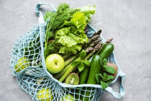 8 frutas y verduras bajas en calorías