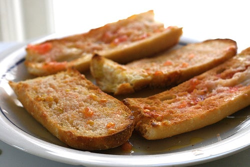 pa amb tomaquet Jen SFO-BCN