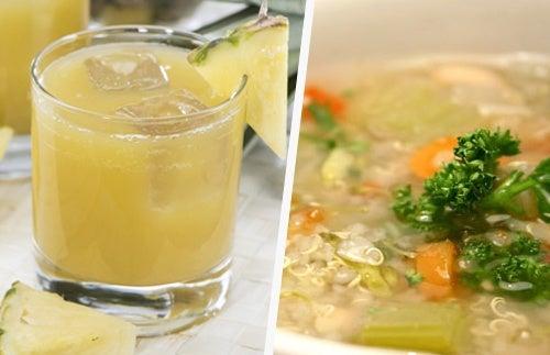 Alimentos que nos ayudan a limpiar mucosidades