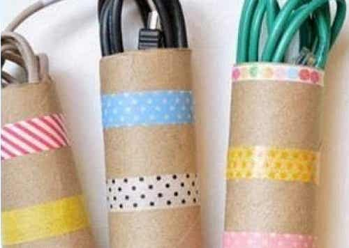 5 ideas para reutilizar rollos de cartón de modo original