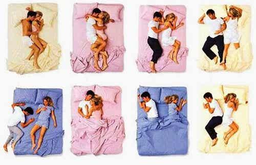 ¿Sabías que la posición en que duermes con tu pareja dice mucho de la relación?