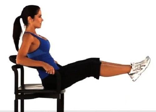 Extension de piernas