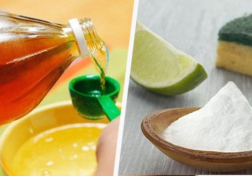 Limpiar el hogar con vinagre, limón y bicarbonato