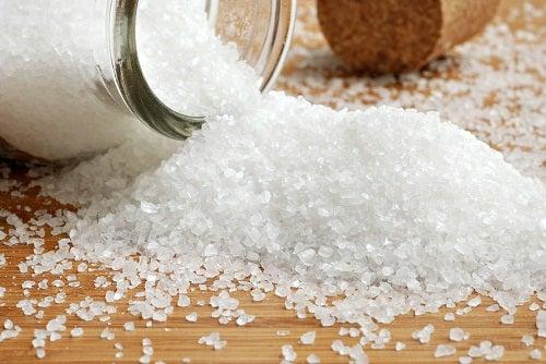 Le sel favorise la cellulite.