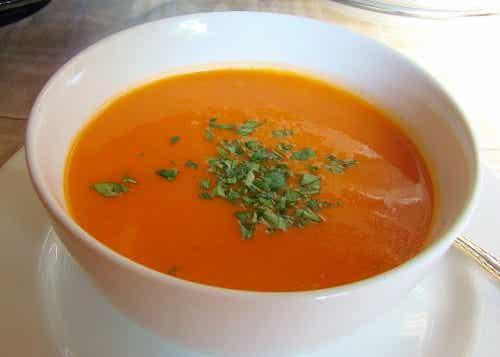 Receta de sopa de tomate para bajar peso