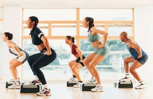 Step fortalecer las piernas