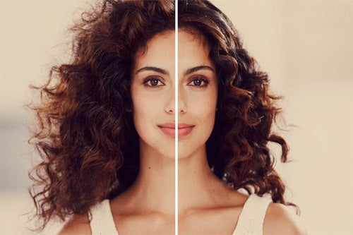 Efecto eléctrico en el cabello