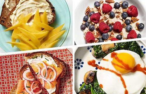 Desayunos para combatir el sobrepeso