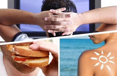 Hábitos cotidianos que dañan nuestra salud