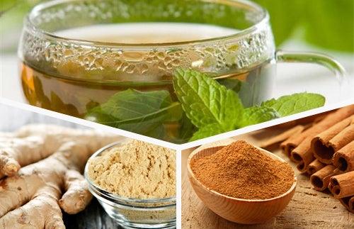 Renueva tu organismo con té verde, jengibre y canela cada día