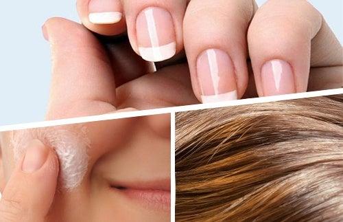 Alimentos para mejorar el cabello, la piel y las uñas