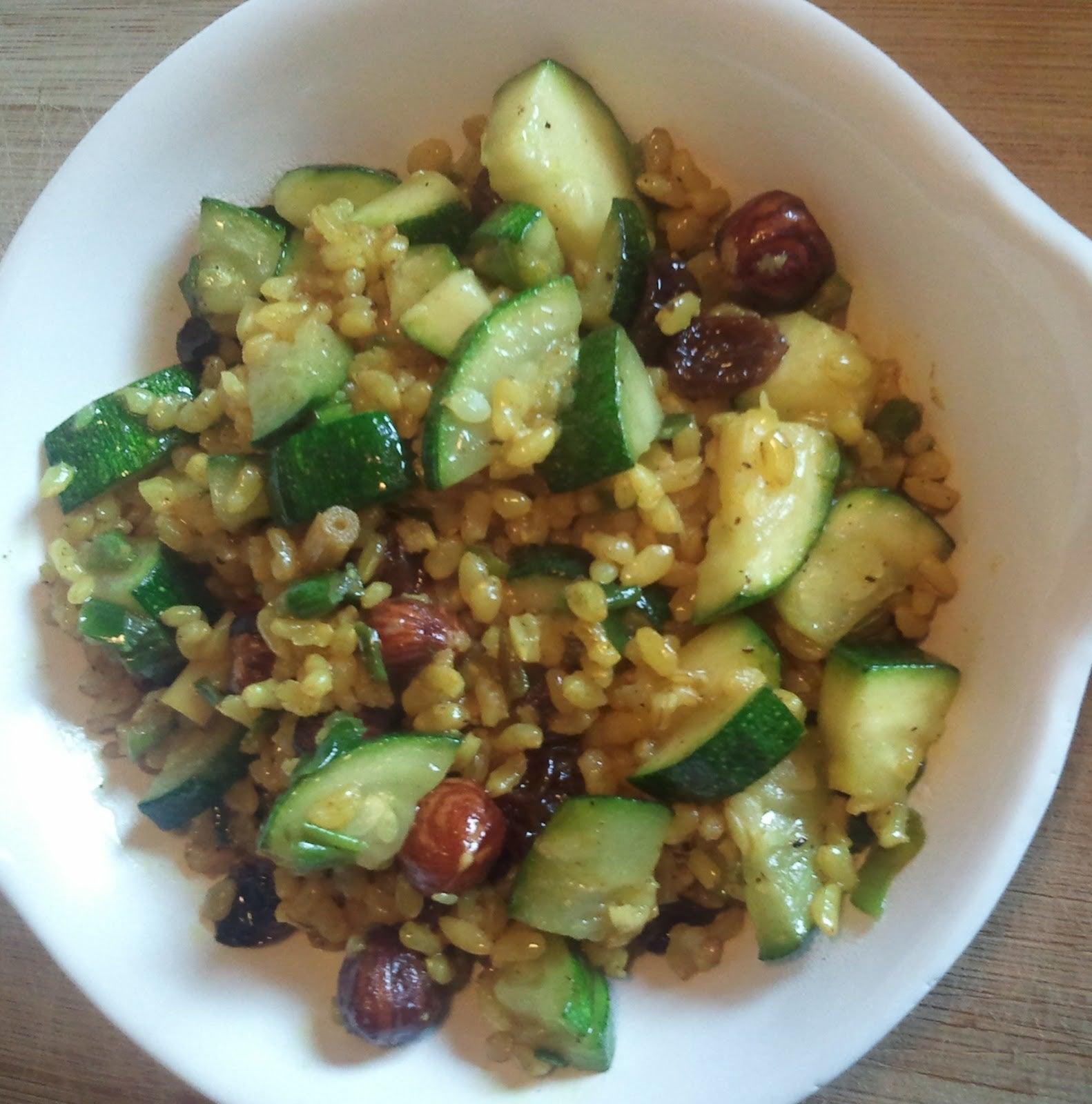 arroz con calabacin