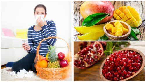 Frutas para prevenir y aliviar la gripe