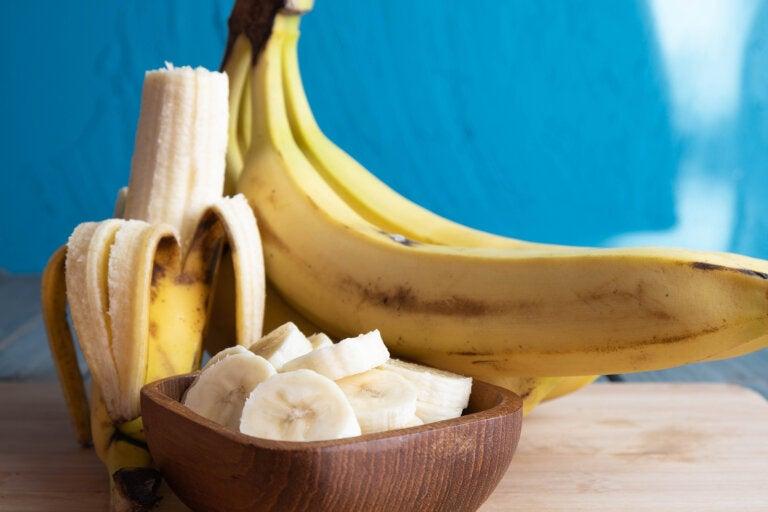 El plátano, un alimento poderoso para mantener un cerebro activo