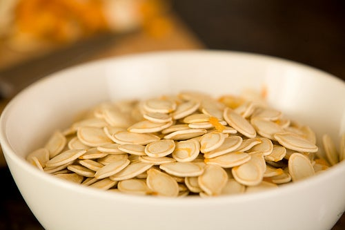semillas de calabaza cuerpo tonificado