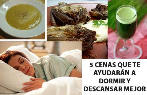 5 cenas que te ayudarán a dormir y descansar mejor