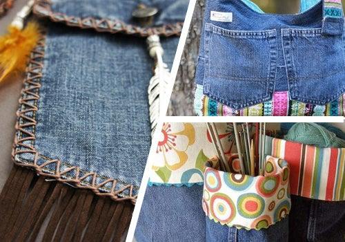 9 maneras de reutilizar tus jeans viejos
