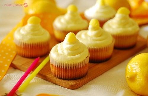 Cupcakes-deliciosos-de-limon
