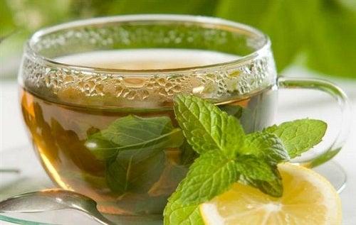 Té verde para reducir los dolores de la artritis