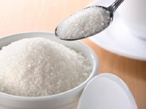 Alimentos perjudiciales: azúcar blanco