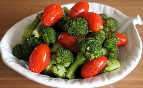 jitomate y brocoli
