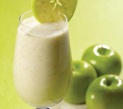 Frullato di avena e mela verde