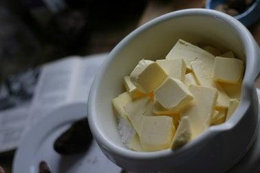 comer mantequilla
