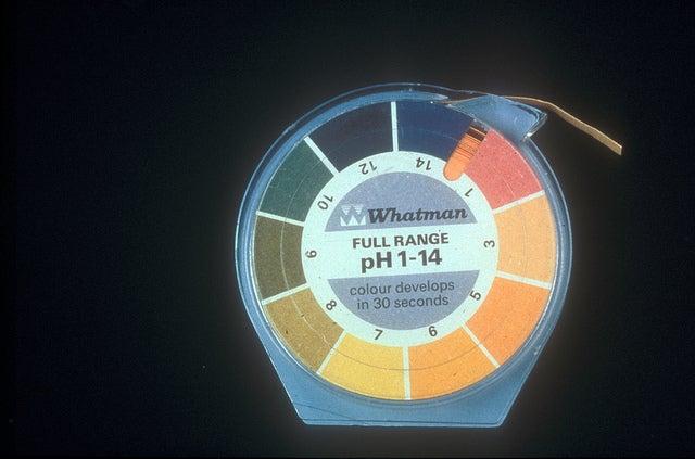 Escala del pH