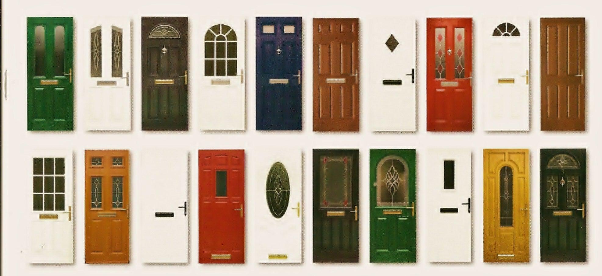 El test de las 10 puertas mejor con salud for Exterior kitchen door with window
