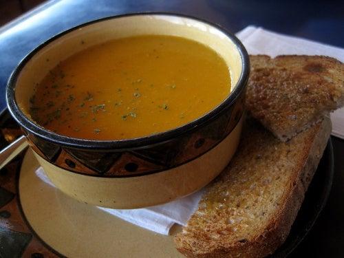 sopa crema zanahoria Chris Campbell