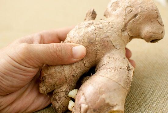 el jengibre sirve para la próstata inflamada