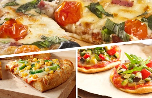 Pizzas-vegetales
