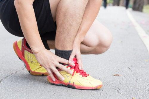 corredor con tendinitis