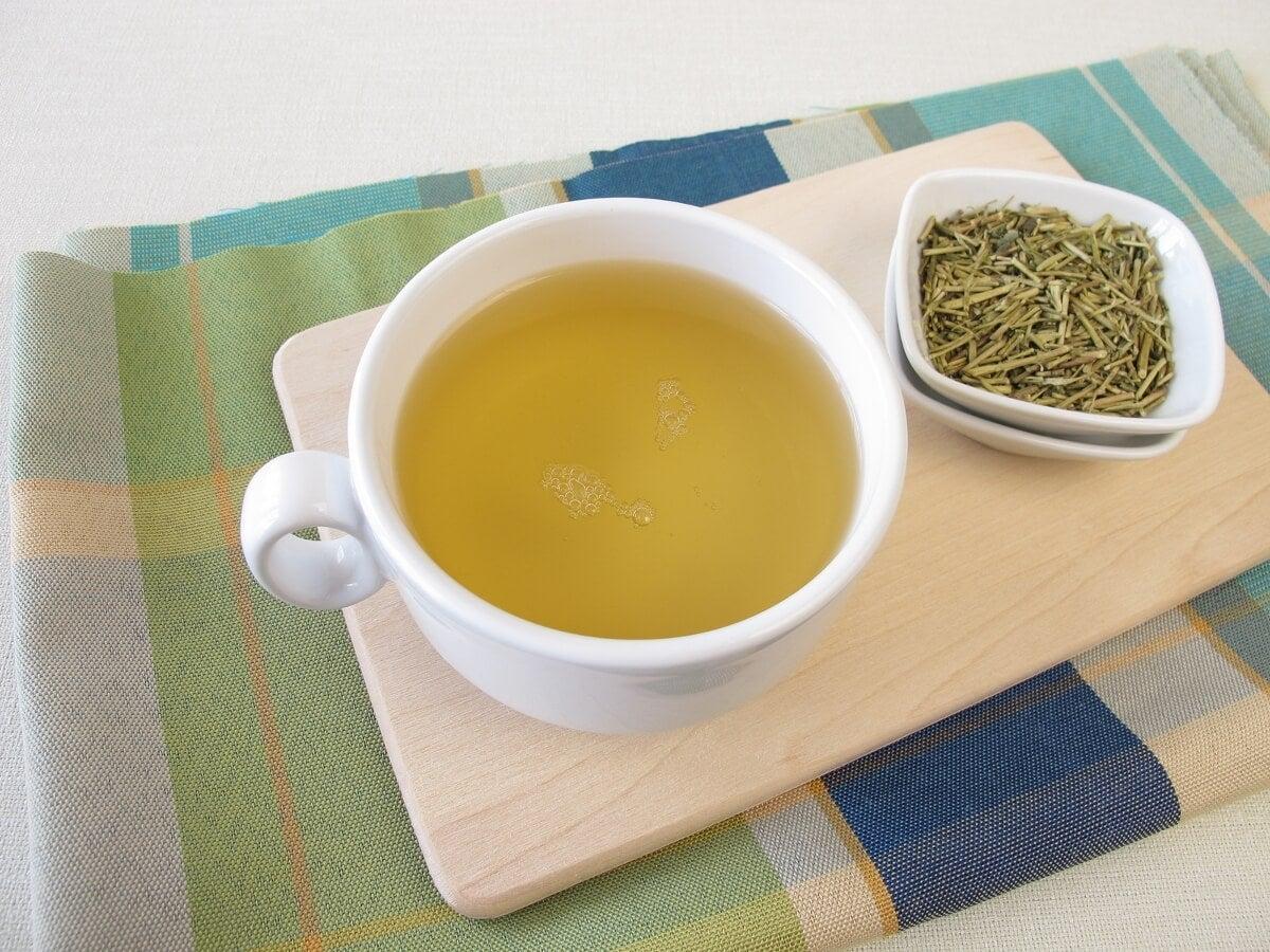 Kukicha o té de tres años.
