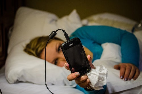 móvil contaminación electromagnética