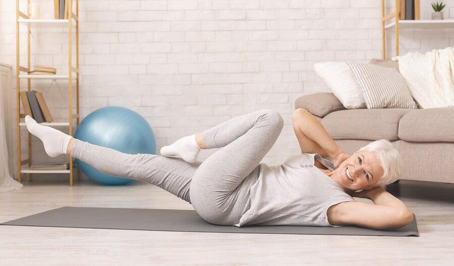 Si eres mayor de 40 y quieres perder peso, haz ejercicio