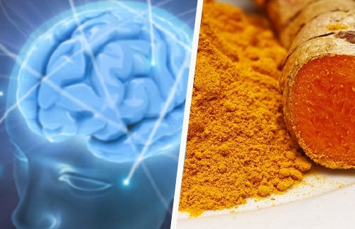 Remedio con cúrcuma para la salud cerebral