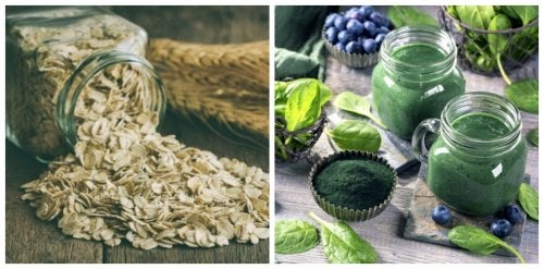 Avena y espirulina: dos ingredientes buenos dentro de una dieta equilibrada
