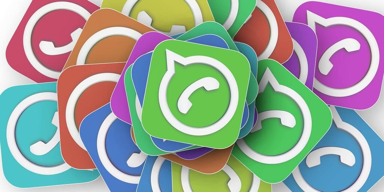 Iconos de sms en colores.