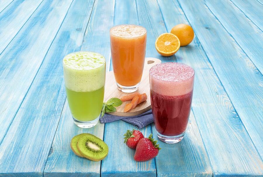 4 zumos naturales para potenciar y recuperar energía