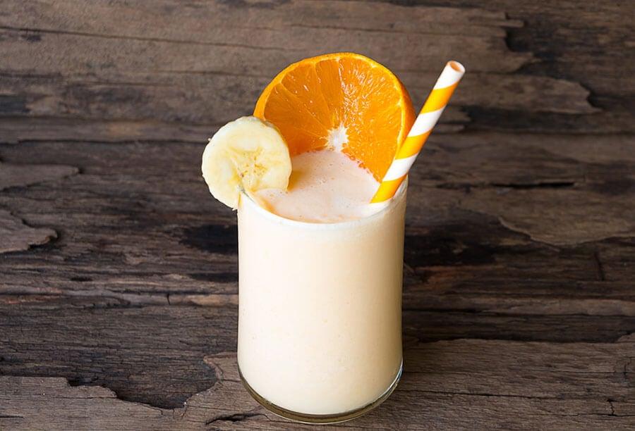 Naranja avena plátano